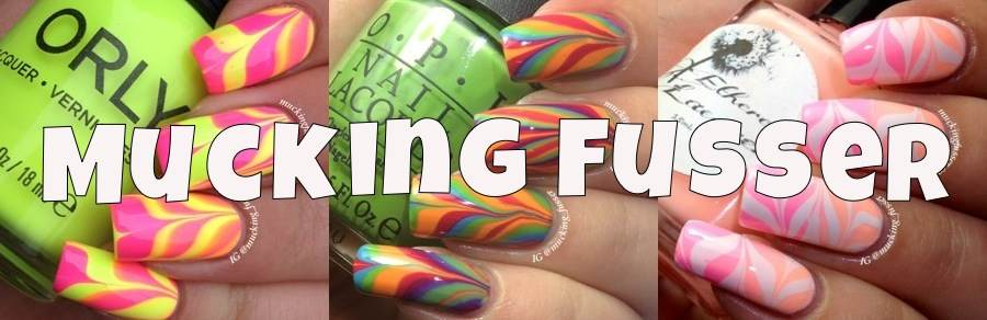 Corynn Musser here Mucking about and making a Fuss in the wonderful world of Nail Polish!