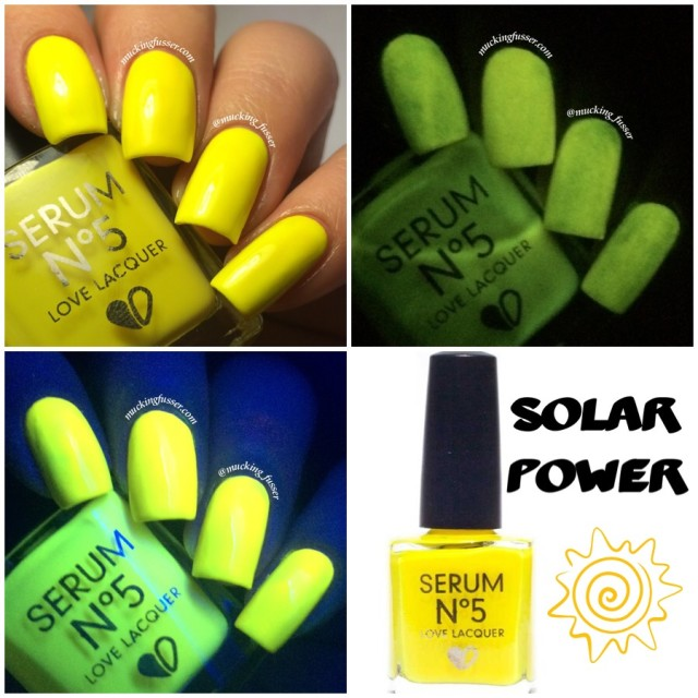 Serum No. 5 Solar Power GITD